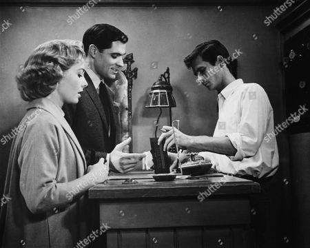 Vera Miles, John Gavin, Anthony Perkins