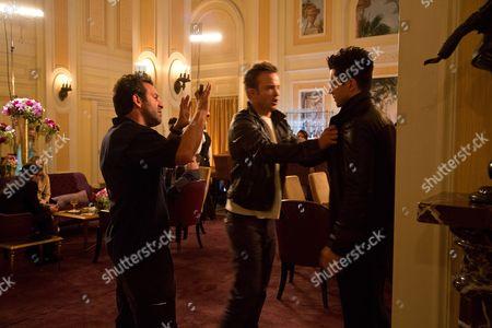 Scott Waugh, Aaron Paul, Dominic Cooper