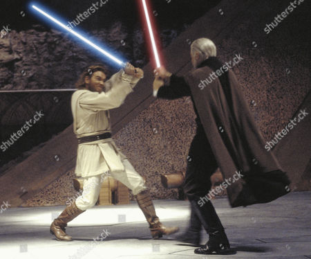 Editorial photo of Star Wars Episode II - Attack Of The Clones - 2002