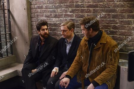 Adam Goldberg, Martin Freeman, Russell Harvard