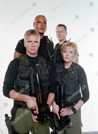 Richard Dean Anderson, Christopher Judge, Corin Nemec, Amanda Tapping