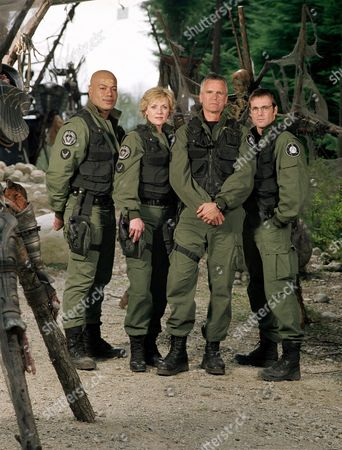 Christopher Judge, Amanda Tapping, Richard Dean Anderson, Michael Shanks