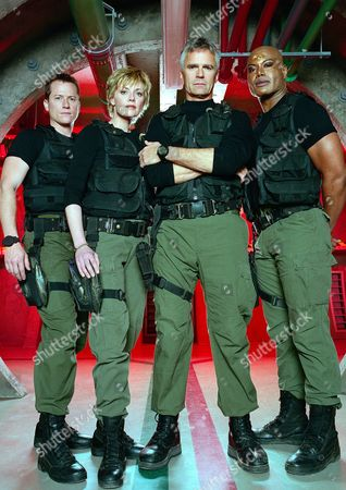 Corin Nemec, Amanda Tapping, Richard Dean Anderson, Christopher Judge