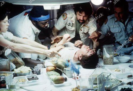 Sigourney Weaver, Yaphet Kotto, Tom Skerritt, Ian Holm, John Hurt