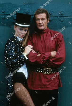 Kristina Wayborn, Roger Moore