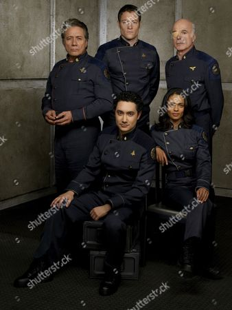 Edward James Olmos, Alessandro Juliani, Tahmoh Pinekett, Kandyse McClure, Michael Hogan