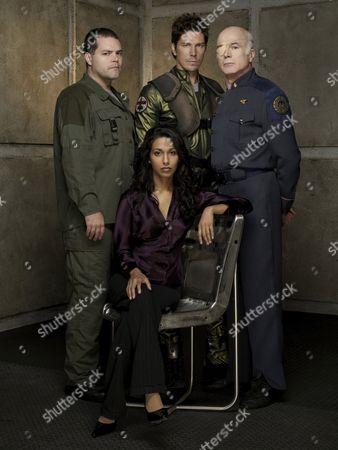 Aaron Douglas, Rekha Sharma, Michael Trucco, Michael Hogan