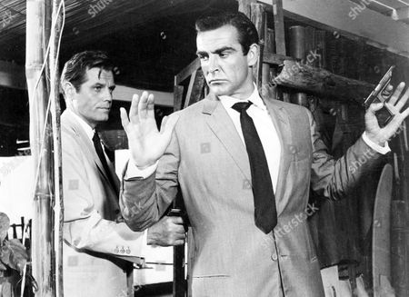 Jack Lord, Sean Connery