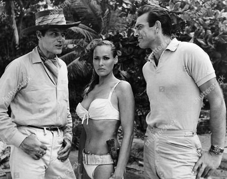 Jack Lord, Ursula Andress, Sean Connery