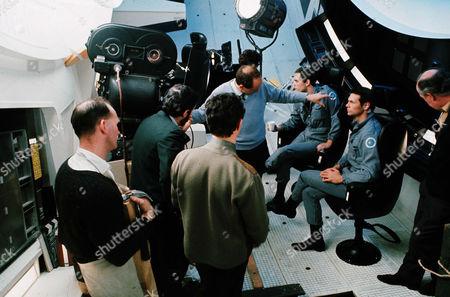 Keir Dullea, Stanley Kubrick, Gary Lockwood
