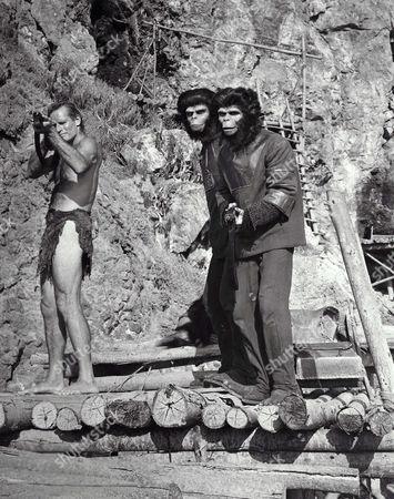 Charlton Heston, Roddy McDowall, Lou Wagner