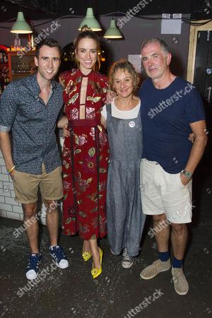 Matthew Lewis (Peter), Ruta Gedmintas (Tara), Niamh Cusack (Joan) and Sean Campion (Tom)