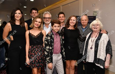 D'Arcy Carden, Zach Woods, Maude Apatow, Bradley Whitford, J.J. Totah, Chris Kelly, Molly Shannon, Paul Dooley and June Squibb