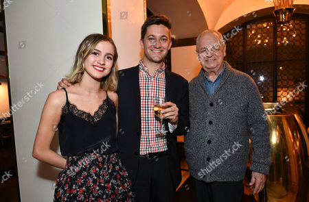 Maude Apatow, Chris Kelly and Paul Dooley