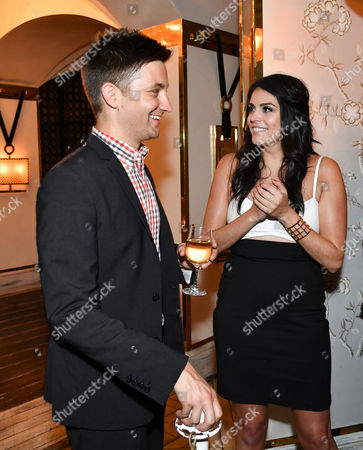 Chris Kelly and Cecily Strong