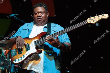 Stock Image of Juan Nelson of Ben Harper and The Innocent Criminals