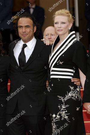 Alejandro Gonzales Inarritu and Cate Blanchett