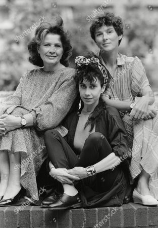 Author Maureen Dunbar (left) With Actresses Susan Jameson (right) And Susie Lindeman. Box 703 70208169 A.jpg.