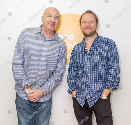 Simon Day and Robert Webb