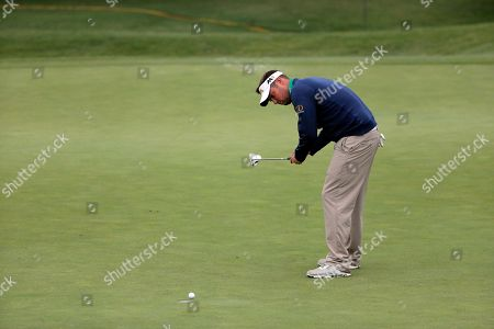 Stock Image of Jeff Overton Jeff Overton competes in the Byron Nelson golf tournament, in Irving, Texas