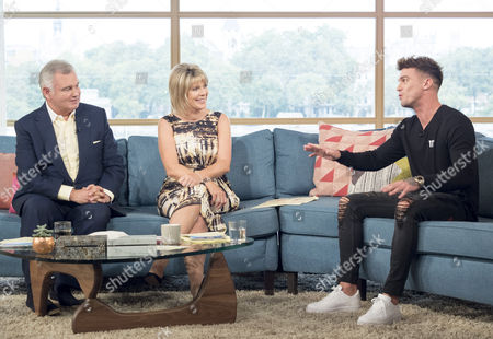 Eamonn Holmes and Ruth Langsford with Gaz Beadle