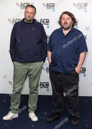 Stock Photo of Andrew Stark and Ben Wheatley