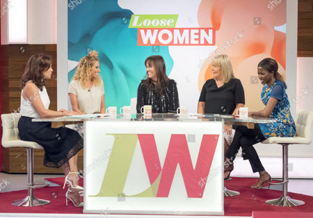 Andrea McLean, Linda Robson, Sheree Murphy, Stacey Solomon and June Sarpong