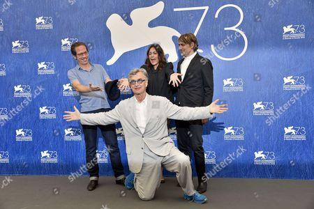 Reda Kateb, Sophie Semin, Jens Harzer and Wim Wenders