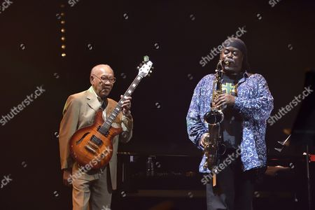 Stock Picture of Ernest Ranglin and Courtney Pine