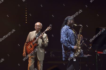 Stock Image of Ernest Ranglin and Courtney Pine