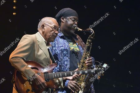 Ernest Ranglin and Courtney Pine