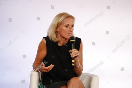 Stock Image of Secretary of State for Disabled People and the Fight against Exclusion Segolene Neuville