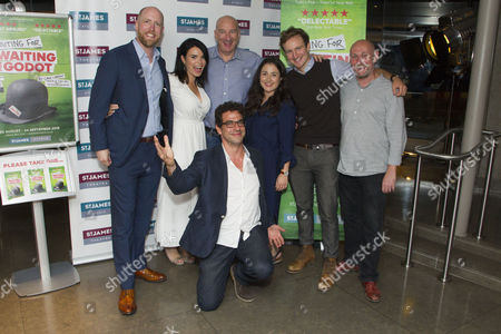 Stock Photo of Dave Hanson (Author), Libby Brodie (Producer), Simon Day (Ester), James Albrecht (Creative Director), Laura Kirman (Laura), James Marlowe (Val) and Mark Bell (Director)
