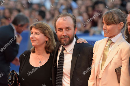 Stock Photo of Rosie Alison, Derek Cianfrance and Shannon Plumb