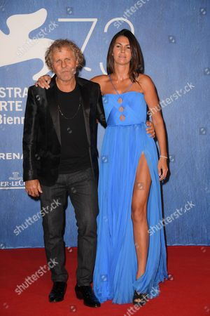 Renzo Rosso with girlfriend Arianna Alessi