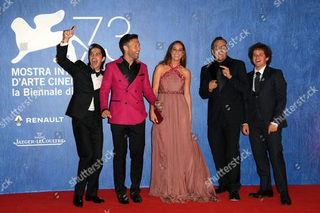 Joseph Haro, Taylor Frey, Matilda Lutz, Gabriele Muccino, Brando Pacitto