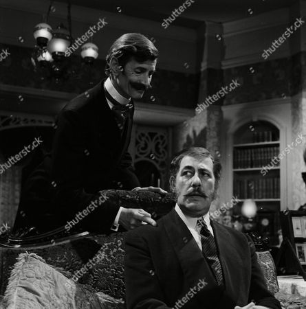 Stock Image of Alfred Marks and Michael Gwynn