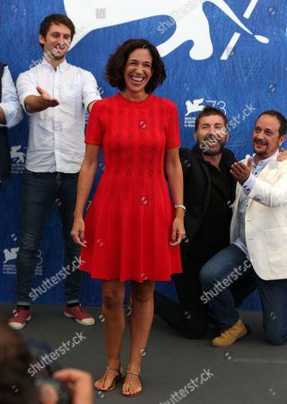 Raul Arevalo, Beatriz Bodegas, Antonio de la Torre and Luis Callejo