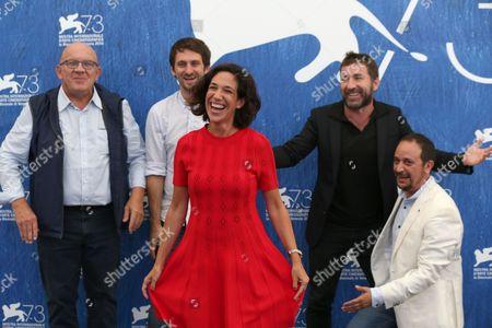 Carlo Degli Esposti, Raul Arevalo, Beatriz Bodegas, Antonio de la Torre and Luis Callejo