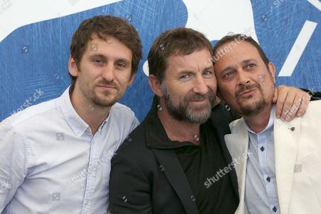 Raul Arevalo, Antonio de la Torre and Luis Callejo