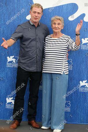 Stock Photo of Andreas Lust and Ingrid Burkhard