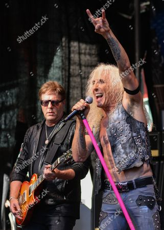 Stock Image of Twisted Sister - Jay Jay French, Dee Snider