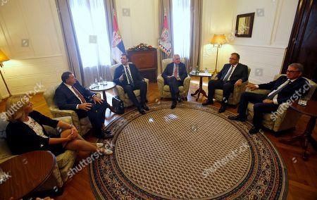 Editorial photo of Presidential meeting, Belgrade, Serbia - 01 Sep 2016