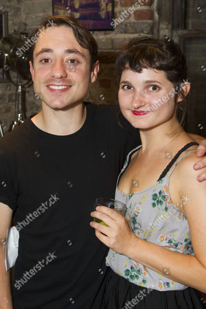 Ryan Sampson (Benjamin Britten) and Ruby Bentall (Carson McCullers)