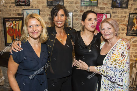 Stock Photo of Zoe Lewis (Author), Zoe Grace, Sadie Frost (Gypsy Rose Lee) and Mary Davidson