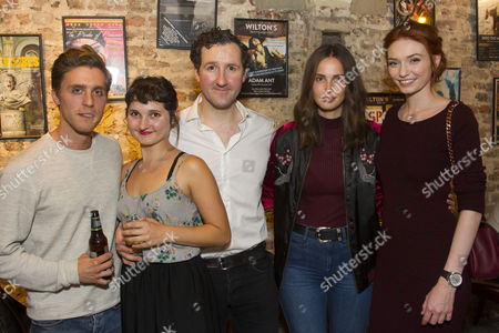 Jack Farthing, Ruby Bentall (Carson McCullers), John Hollingworth (WH Auden), Heida Reed and Eleanor Tomlinson