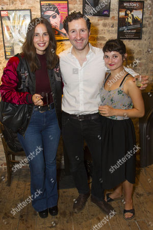 Heida Reed, John Hollingworth (WH Auden) and Ruby Bentall (Carson McCullers)