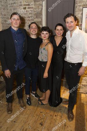 David Burnett (John Dunne), Ryan Sampson (Benjamin Britten), Ruby Bentall (Carson McCullers), Sadie Frost (Gypsy Rose Lee) and John Hollingworth (WH Auden)