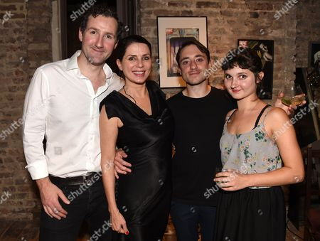 John Hollingworth, Sadie Frost, Ray Sampson and Ruby Bentall