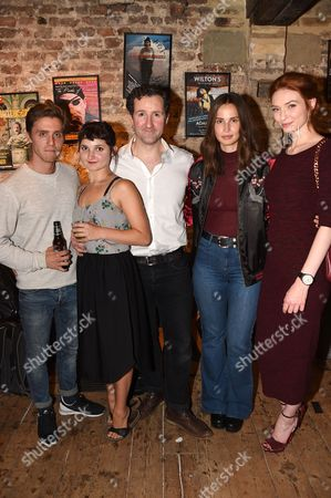 Editorial picture of 'Britten in Brooklyn' after show party at Wilton's Music Hall, London, UK - 02 Sep 2016